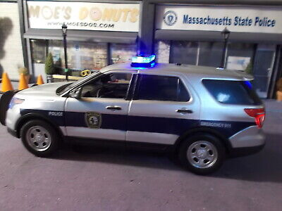 1974 Dodge Monaco Pursuit Massachusetts State Police 1//18 Limited to 2000pc b...