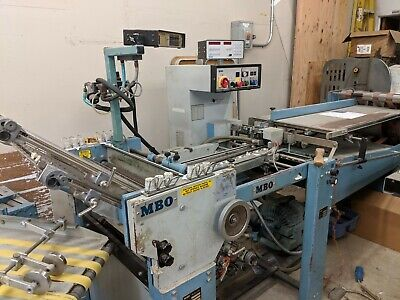 MBO T-49 Continuous Feed Folder