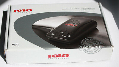 K40 RL360I RADAR Detector w GPS Front & Rear Directional Awareness on