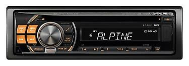 Alpine Cde-101Rm   Front Panel Only Faceplate Off