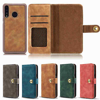 For HUAWEI Mate 20 Magnetic Flip Stand Card Leather Wallet Case Cover