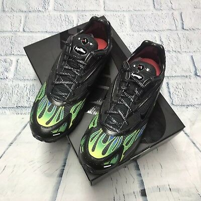 e37908133e95 Supreme x Nike Air Zoom Streak Spectrum Plus Black Green Sz 11.5 SS18