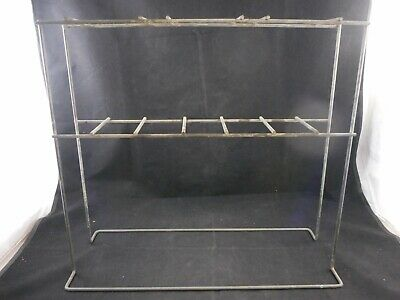 """Laboratory Steel Support Rack for Imhoff Settling Cones 17-1/2 x 5-1/2 x 16"""""""