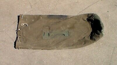 Old Allied WW2 era US / Canada Military Soldier's Canvas Duffel Bag Used