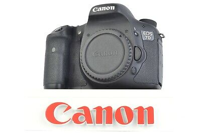 Canon EOS 7D 18.0MP Digital SLR Camera (Body Only) Shutter Count:   #P3804