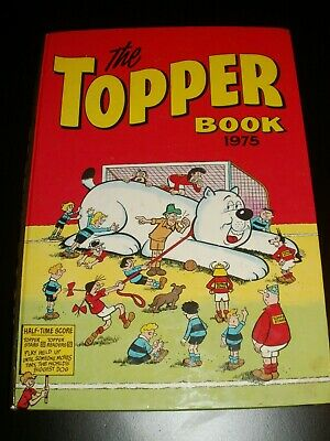 The Topper Book 1975 Vintage  Comic Annual.