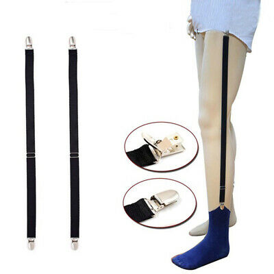Men Elastic Shirt Stays Sock Adjustable Suspenders Garters Belt Garter Straps