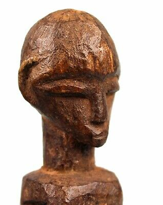 Art African African - Very Antique Fetish Lobi - Base Tailored - 21 CMS
