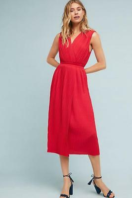 cac0da6f5 NEW ANTHROPOLOGIE PLEATED Midi Dress by Tracy Reese Size L & XL ...