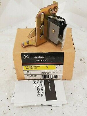 1 New Ge Thaux61S Auxiliary Contact Kit Nib ***Make Offer***
