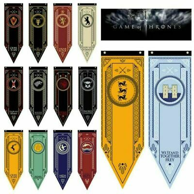 Game of Thrones/Harry Potter House Banner Dragon Gryffindor Flag Poster Decor US