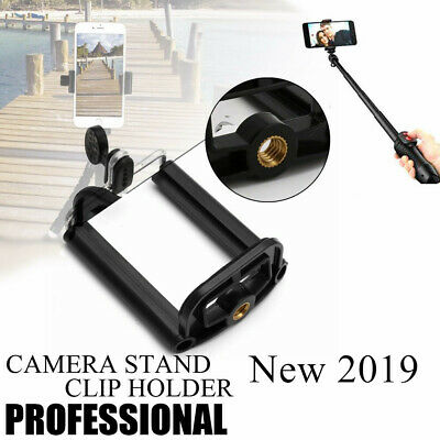 Cell Phone Tripod Adapter Holder Universal Smartphone Mount For  ISO Android