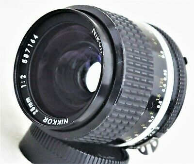 Nikon Nikkor 28mm f/2 MF Ai-s Lens Excellent No. 587164