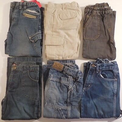 6 Trousers Jeans Child 5-6 Years River Woods Okaou Texbasic Ted Walkins N3349