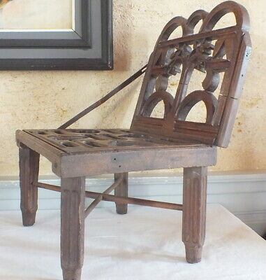 Chair Foldable Antique Pattern X120veggicaps