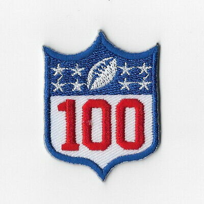 National Football League 100th Iron on Patches Embroidered Patch 8 Stars FN