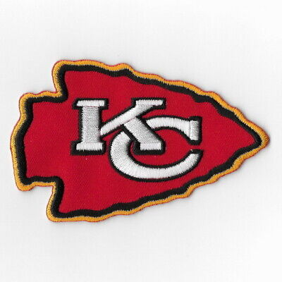 Kansas City Chiefs Red Iron on Patches Embroidered Patch Applique Badge Sew FN