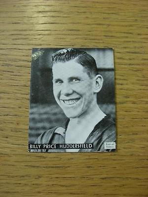 """1938 Topical Times Card 2""""x3"""": Huddersfield Town - Price, William . No obvious f"""