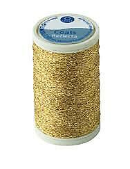 Coats MEZ Anchor Reflecta Glanz Stickgarn gold Farbe 300 100 m Spule