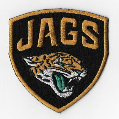 5a5df9eaa446f4 Jacksonville Jaguars Iron on Patches Embroidered Badge Patch Applique  Shield FN