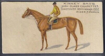 Kinney (Usa)-Famous Running Horses (English)- Shotover - T. Cannon