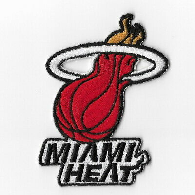 NBA Miami Heat Iron on Patches Embroidered Badge Patch Applique Sew Emblem
