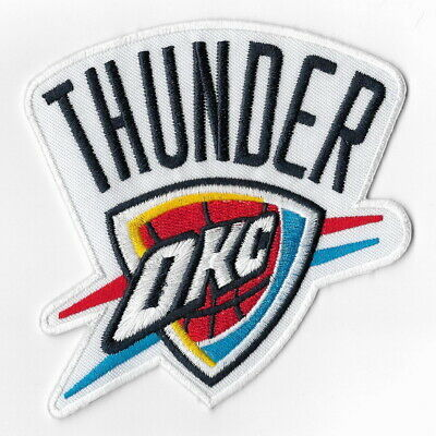 NBA Oklahoma City Thunder Iron on Patches Embroidered Badge Patch Applique Sew