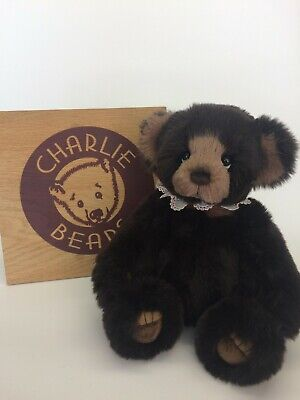 Charlie Bears Woodend Plush Bear - BNWT - OFFICIAL STOCKIST