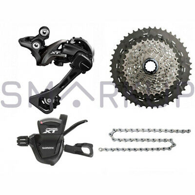 NEW 2019 SHIMANO Deore XT M8000 Drivetrain Groupset Group 46t/42t/40t  11-speed