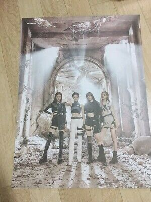 Blackpink Jennie Jisoo Rose Lisa Official Kill This Love Duble Sided Poster Kpop