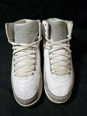 the latest 101c5 cc98e Nike Air Jordan II 2 Retro SILVER ANNIVERSARY 3M GREY 385475-101 Size 12 OG