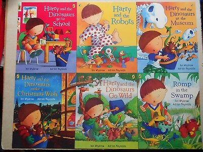 HARRY AND THE DINOSAURS - Set of 6 PB Books - Ian Whybrow