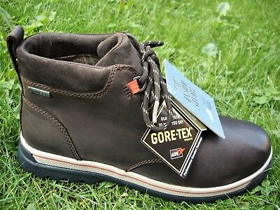 709f09602603d Clarks WATERPROOF Ripway Hill Gtx Brown Leather Boot WIDE-FIT Men UK-12 H
