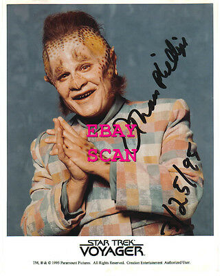 1995 Star Trek Hand Signed Autograph Photo of Ethan SCOTTY Phillips