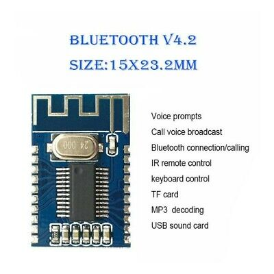 Bluetooth 4.2 audio receiver module wireless bluetooth CALL stereo Circuit board
