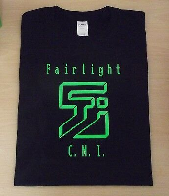 Retro T Shirt Synth Keyboard Design Fairlight Sampler S M L Xl Xxl