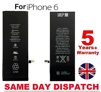 NEW  For iPhone 6 6G Genuine 1810mAh Battery Replacement UK FREE DELIVERY