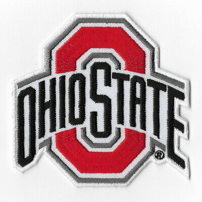 NCAA Ohio State Buckeyes Iron on Patches Embroidered Badge Patch Applique Emblem