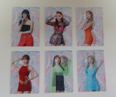 Twice Fancy You 7th Mini Album Official Lenticular Photocard  6Models