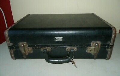Vintage Sturdy Wooden Samson Case Made in USA with Key