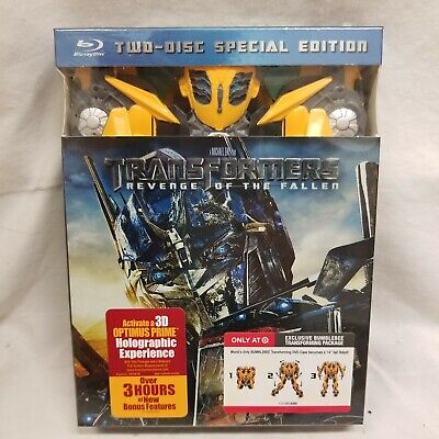 Target Exclusivo Transformers Collector Edition Bumblebee Blu-Ray DVD 2 Discos