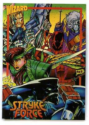 Wizard Foil Card - #9 - Image - Stryke Force - Marc Silvestri
