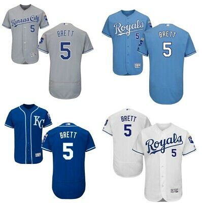 the latest 19019 dd4b5 GEORGE BRETT KANSAS City Royals Retro Throwback Jersey Mens ...