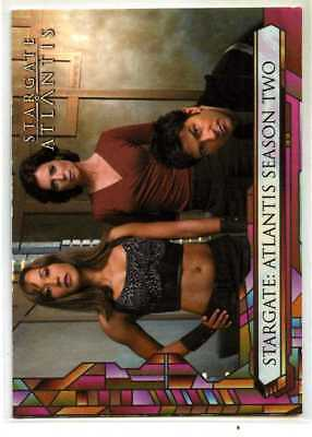 Stargate Atlantis Season 2 - P2 - 2006 - Promo Card