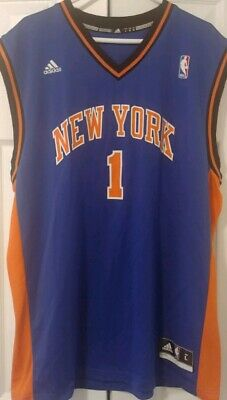 886d7ee607d NEW YORK KNICKS #1 Amar'e Stoudemire NBA Adidas Youth Basketball ...