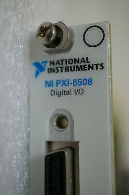 National Instruments NI PXI 6508 96-Channel Digital I/O Module 184836E-01