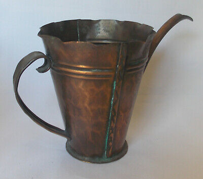 Vintage Craftsman Company Handmade Copper Watering Can