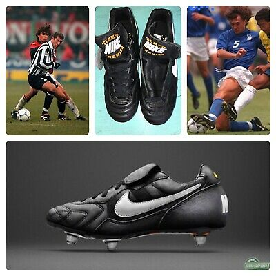 new arrival f0207 dd095 Nike Rare Tiempo Premier SG Classic Maldini K-Leather Soccer Shoes Cleats 7