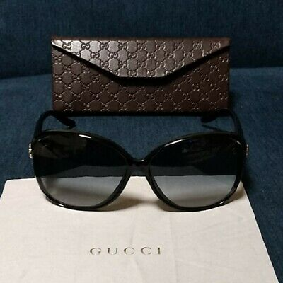 b3678507167 Authentic GUCCI Women s Sunglasses Eyewear Brown Made in Italy with  Case