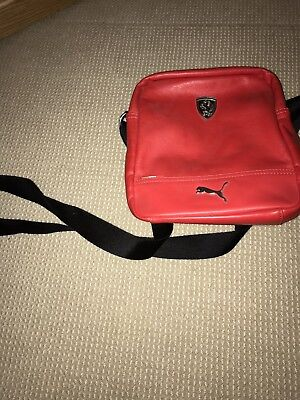 Ferrari X Puma Shoulder Bag Red